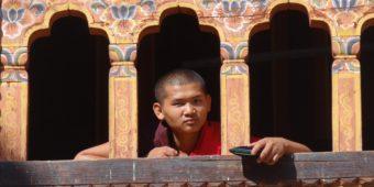 moine bhoutan