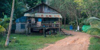 sentier maison thailande