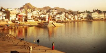 pushkar rajasthan lake