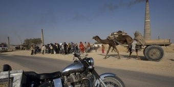 desert rajasthan motorcycle india