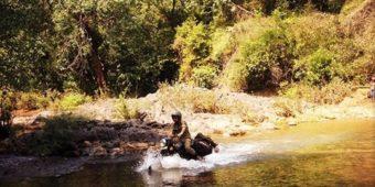 moto offroad riviere