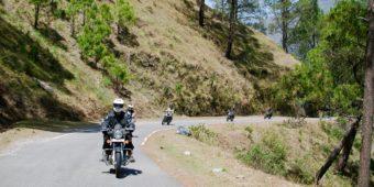 route moto inde himalaya