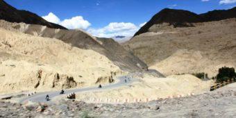 mountains motorcycle himalaya