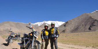 friends motorcycle himalaya
