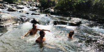 baignade rivière inde