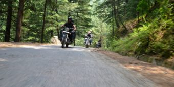 route inde himalaya en moto