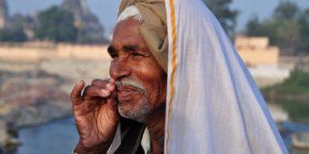 inde madhya pradesh turban orchha