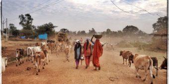 femme village inde madhya pradesh