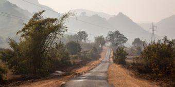 route paysage odisha