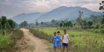 enfant campagne odisha