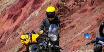 biker et sa moto