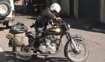 From Sydney to London on a Royal Enfield