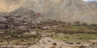 paysages haut mustang