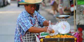 vendeur thailande