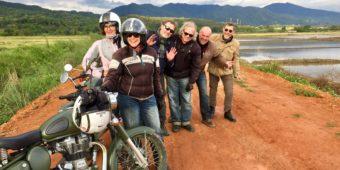 groupe moto thailande