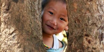 child north thailand