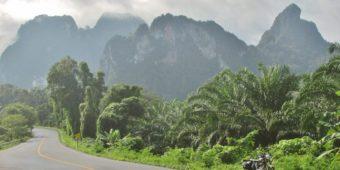 road mountain thailand