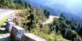 route bhoutan moto