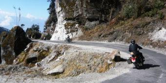 road trip moto bhoutan