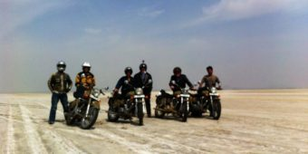 salted lake rajasthan motorcycle