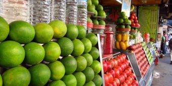 fruits stall india