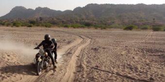 desert rajasthan motorcycle
