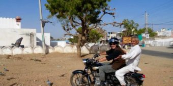 motorcycle sand north india rajasthan