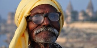 old man india