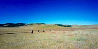 mongolia steppe motorcycle