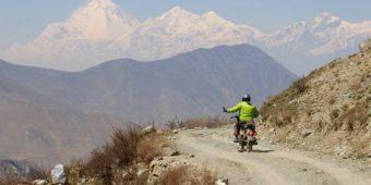 nepal en moto