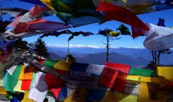 En route pour les festivals du Bhoutan