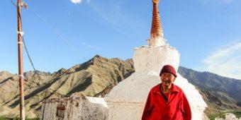 monastere gompa ladakh moine