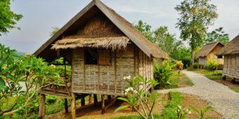 maison pilotis laos