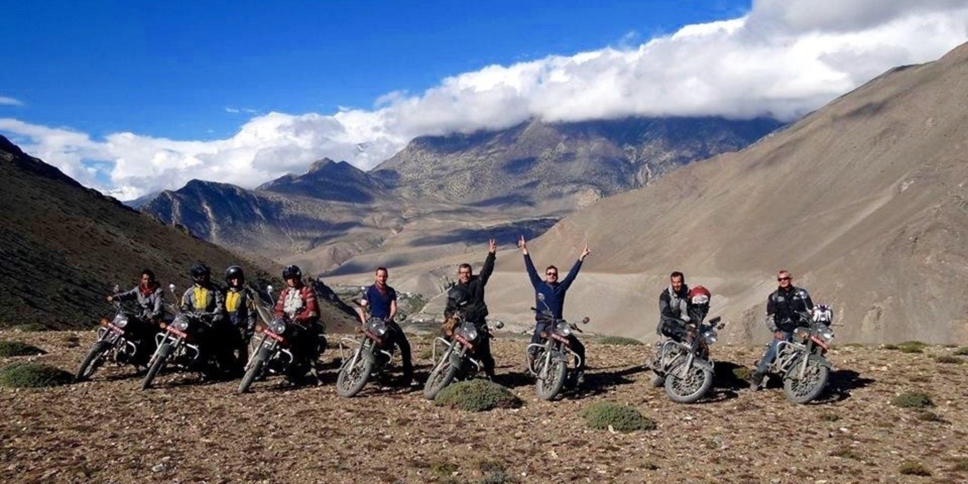 motorcycle trip nepal