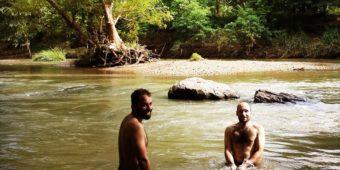 sri lanka baignade riviere